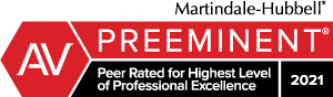 Martindale-Hubbell Preeminent Top Rated 2021 - Mark Debofsky